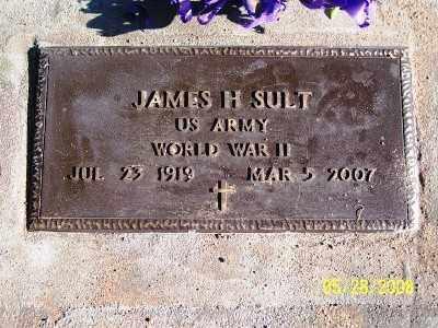 SULT, JAMES H. - Pinal County, Arizona | JAMES H. SULT - Arizona Gravestone Photos