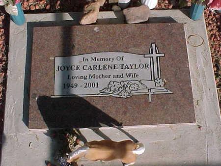 TAYLOR, JOYCE  CARLENE - Pinal County, Arizona | JOYCE  CARLENE TAYLOR - Arizona Gravestone Photos