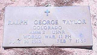 TAYLOR, RALPH GEORGE - Pinal County, Arizona | RALPH GEORGE TAYLOR - Arizona Gravestone Photos