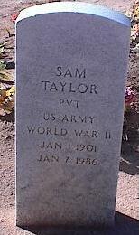TAYLOR, SAM - Pinal County, Arizona | SAM TAYLOR - Arizona Gravestone Photos