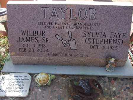 TAYLOR, WILBUR JAMES, SR. - Pinal County, Arizona | WILBUR JAMES, SR. TAYLOR - Arizona Gravestone Photos