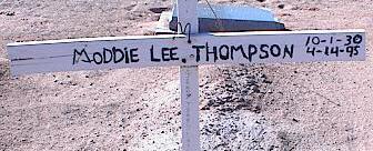 THOMPSON, MODDIE LEE - Pinal County, Arizona | MODDIE LEE THOMPSON - Arizona Gravestone Photos