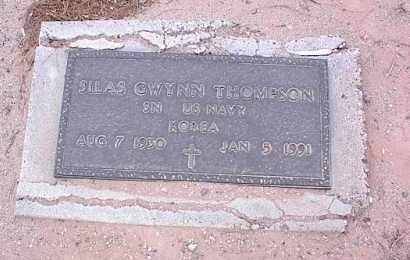 THOMPSON, SILAS GWYNN - Pinal County, Arizona | SILAS GWYNN THOMPSON - Arizona Gravestone Photos