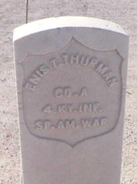 THURMAN, ENIS T. - Pinal County, Arizona   ENIS T. THURMAN - Arizona Gravestone Photos
