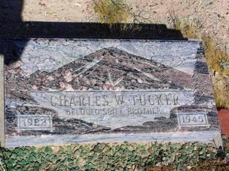 TUCKER, CHARLES W - Pinal County, Arizona   CHARLES W TUCKER - Arizona Gravestone Photos
