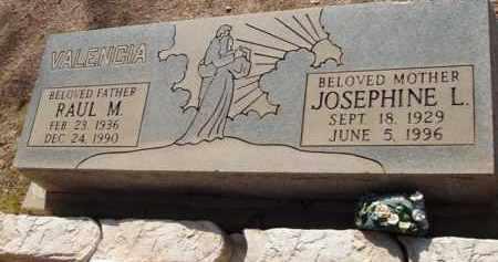 VALENCIA, JOSEPHINE L. - Pinal County, Arizona | JOSEPHINE L. VALENCIA - Arizona Gravestone Photos