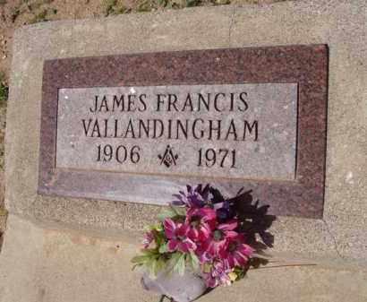 VALLANDINGHAM, JAMES FRANCIS - Pinal County, Arizona | JAMES FRANCIS VALLANDINGHAM - Arizona Gravestone Photos