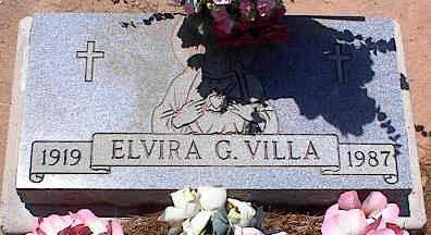 VILLA, ELVIRA G. - Pinal County, Arizona   ELVIRA G. VILLA - Arizona Gravestone Photos