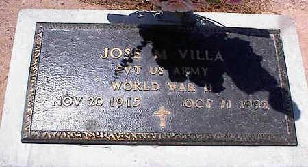 VILLA, JOSE M. - Pinal County, Arizona | JOSE M. VILLA - Arizona Gravestone Photos
