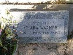 HALL WARNER, CLARA - Pinal County, Arizona | CLARA HALL WARNER - Arizona Gravestone Photos