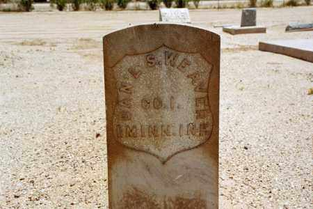 WEAVER, DANIEL - Pinal County, Arizona | DANIEL WEAVER - Arizona Gravestone Photos