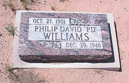 WILLIAMS, PHILIP DAVID - Pinal County, Arizona | PHILIP DAVID WILLIAMS - Arizona Gravestone Photos
