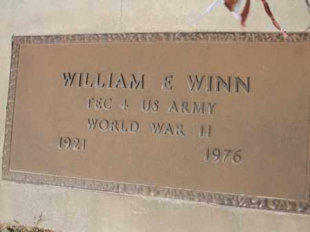 WINN, WILLIAM E. - Pinal County, Arizona | WILLIAM E. WINN - Arizona Gravestone Photos