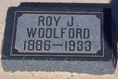 WOOLFORD, ROY J. - Pinal County, Arizona | ROY J. WOOLFORD - Arizona Gravestone Photos