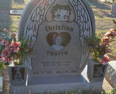YBARRA, CHRISTINA - Pinal County, Arizona | CHRISTINA YBARRA - Arizona Gravestone Photos