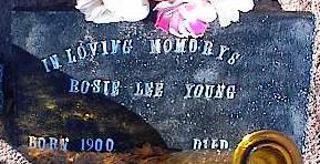 YOUNG, BOSIE LEE - Pinal County, Arizona | BOSIE LEE YOUNG - Arizona Gravestone Photos