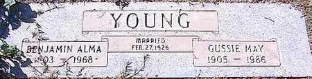 YOUNG, GUSSIE MAY - Pinal County, Arizona   GUSSIE MAY YOUNG - Arizona Gravestone Photos