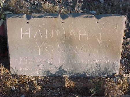 YOUNG, HANNAH LOUISE - Pinal County, Arizona   HANNAH LOUISE YOUNG - Arizona Gravestone Photos