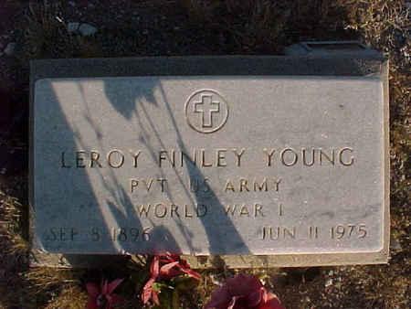 YOUNG, LEROY F. - Pinal County, Arizona | LEROY F. YOUNG - Arizona Gravestone Photos