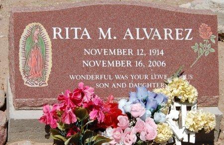 ALVAREZ, RITA M. - Santa Cruz County, Arizona | RITA M. ALVAREZ - Arizona Gravestone Photos