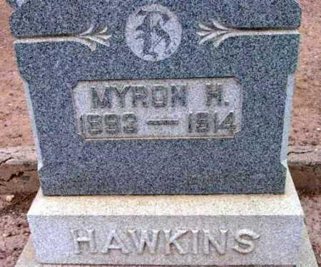 HAWKINS, MYRON HENRY - Yavapai County, Arizona   MYRON HENRY HAWKINS - Arizona Gravestone Photos