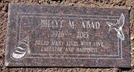 ABAD, BILLYE M. - Yavapai County, Arizona   BILLYE M. ABAD - Arizona Gravestone Photos