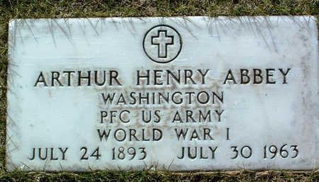 ABBEY, ARTHUR HENRY - Yavapai County, Arizona | ARTHUR HENRY ABBEY - Arizona Gravestone Photos