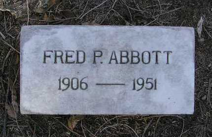 ABBOTT, FRED PALM - Yavapai County, Arizona | FRED PALM ABBOTT - Arizona Gravestone Photos