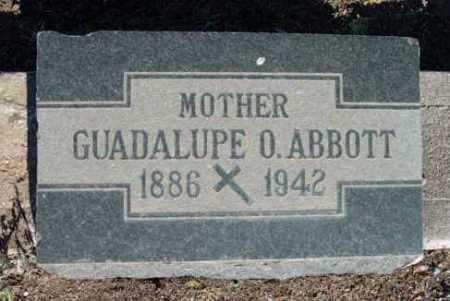 ABBOTT, GUADALUPE O. - Yavapai County, Arizona | GUADALUPE O. ABBOTT - Arizona Gravestone Photos