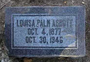 ABBOTT, LOUISA - Yavapai County, Arizona | LOUISA ABBOTT - Arizona Gravestone Photos