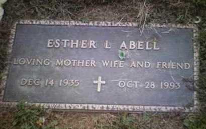 ABELL, ESTHER LENORE - Yavapai County, Arizona | ESTHER LENORE ABELL - Arizona Gravestone Photos