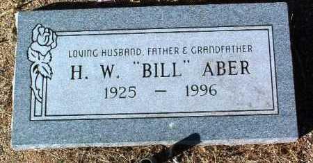 ABER, HUGH WILLIAM  (BILL) - Yavapai County, Arizona | HUGH WILLIAM  (BILL) ABER - Arizona Gravestone Photos