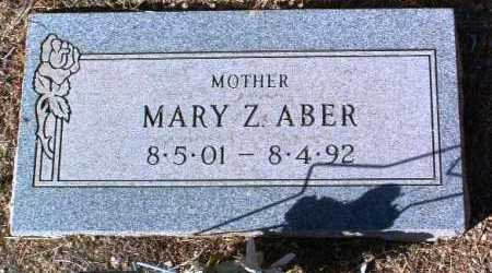 STULLER ABER, MARY Z. - Yavapai County, Arizona | MARY Z. STULLER ABER - Arizona Gravestone Photos