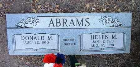 ABRAMS, HELEN MICHELINAS - Yavapai County, Arizona   HELEN MICHELINAS ABRAMS - Arizona Gravestone Photos