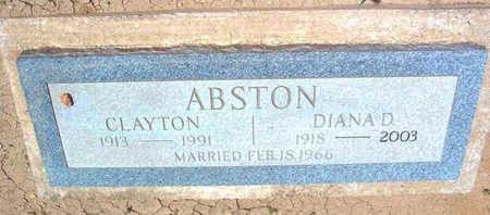 GUTHRIE ABSTON, DIANA D. - Yavapai County, Arizona | DIANA D. GUTHRIE ABSTON - Arizona Gravestone Photos