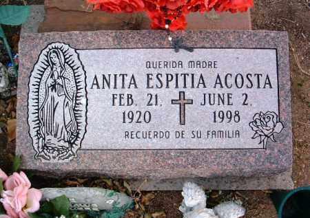 ACOSTA, ANITA - Yavapai County, Arizona | ANITA ACOSTA - Arizona Gravestone Photos