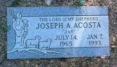 ACOSTA, JOSEPH A. (JAY) - Yavapai County, Arizona | JOSEPH A. (JAY) ACOSTA - Arizona Gravestone Photos