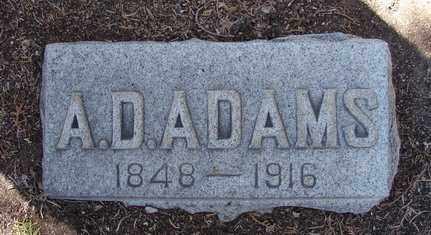 ADAMS, AMOS DARWIN - Yavapai County, Arizona | AMOS DARWIN ADAMS - Arizona Gravestone Photos