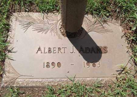 ADAMS, ALBERT JACKSON - Yavapai County, Arizona   ALBERT JACKSON ADAMS - Arizona Gravestone Photos