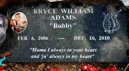ADAMS, BRYCE WILLIAM - Yavapai County, Arizona   BRYCE WILLIAM ADAMS - Arizona Gravestone Photos