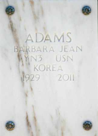 ADAMS, BARBARA JEAN - Yavapai County, Arizona   BARBARA JEAN ADAMS - Arizona Gravestone Photos