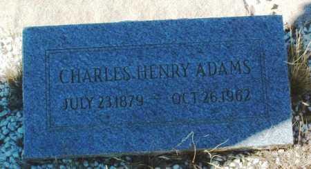 ADAMS, CHARLES HENRY - Yavapai County, Arizona | CHARLES HENRY ADAMS - Arizona Gravestone Photos