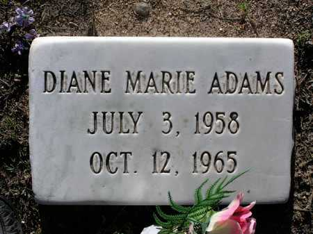 ADAMS, DIANE MARIE - Yavapai County, Arizona | DIANE MARIE ADAMS - Arizona Gravestone Photos