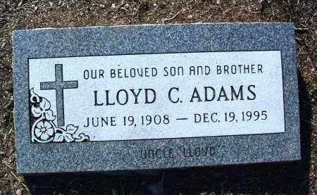 ADAMS, LLOYD CLIFTON - Yavapai County, Arizona   LLOYD CLIFTON ADAMS - Arizona Gravestone Photos