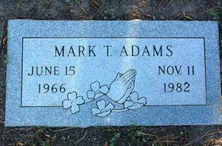 ADAMS, MARK TRAVIS - Yavapai County, Arizona | MARK TRAVIS ADAMS - Arizona Gravestone Photos