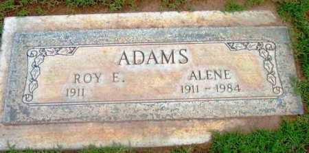 ADAMS ADAMS, ALENE - Yavapai County, Arizona | ALENE ADAMS ADAMS - Arizona Gravestone Photos