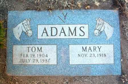 ADAMS, MARY ANN - Yavapai County, Arizona | MARY ANN ADAMS - Arizona Gravestone Photos