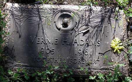 ADAMS, VERNIE H. - Yavapai County, Arizona | VERNIE H. ADAMS - Arizona Gravestone Photos