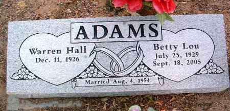 ADAMS, BETTY LOU - Yavapai County, Arizona | BETTY LOU ADAMS - Arizona Gravestone Photos