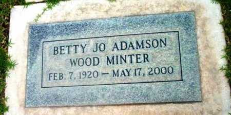WOOD, BETTY JOSEPHINE - Yavapai County, Arizona | BETTY JOSEPHINE WOOD - Arizona Gravestone Photos